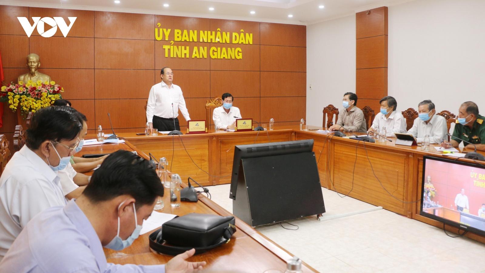 Công tác phòng, chống dịch Covid-19 tại An Giang được nâng lên mức cao nhất