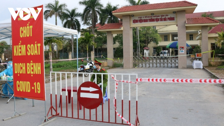 Hai Phong closes non-essential services after a COVID-19 infection