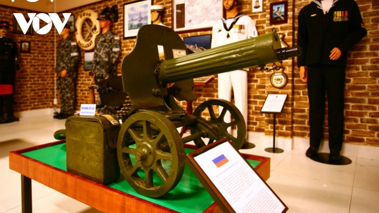 Unique collection of old weapons and uniforms on show at Vung Tau museum