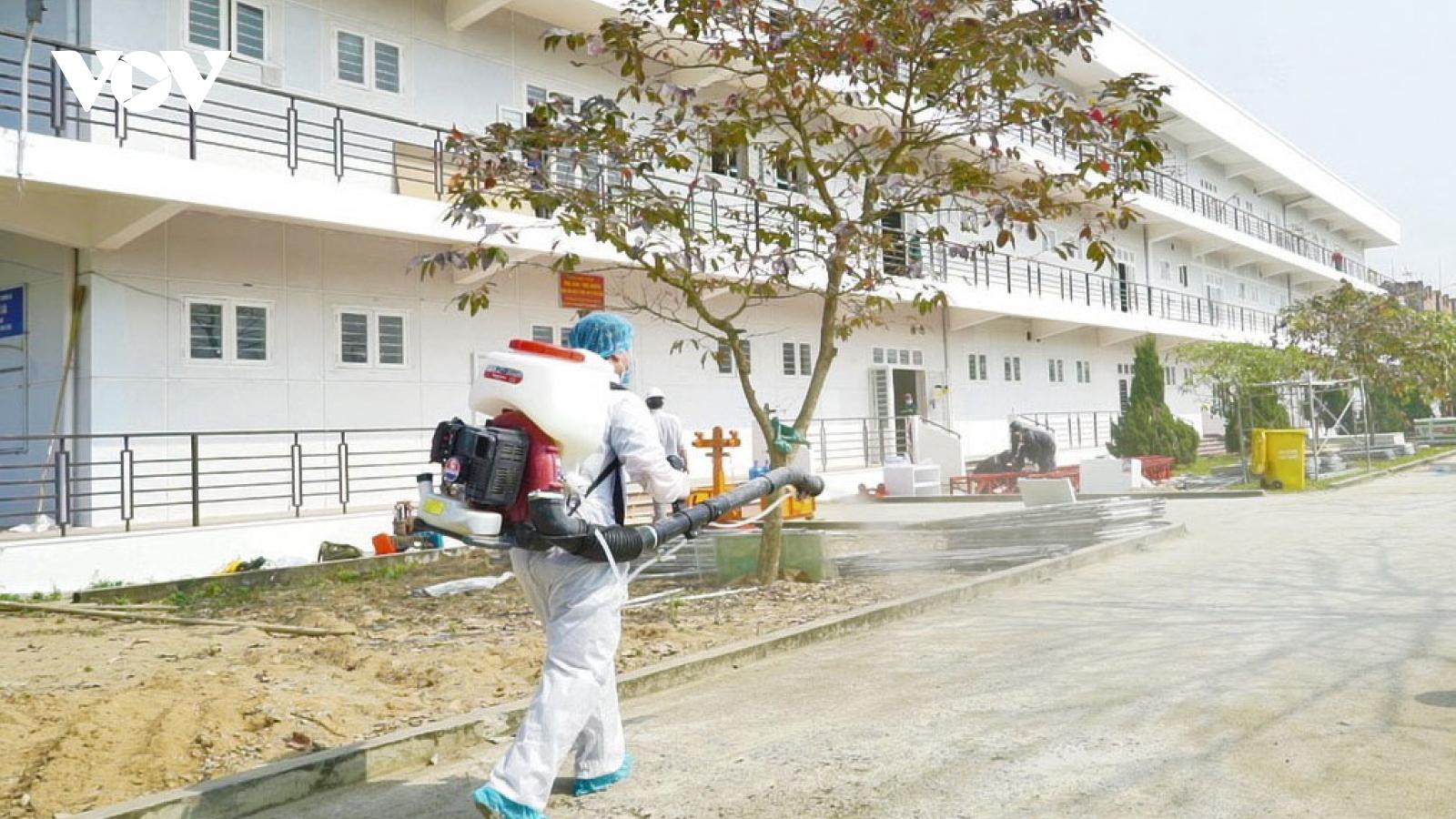 Bệnh viện Dã chiến số 3Hải Dươngsẵn sàng đi vào hoạt động