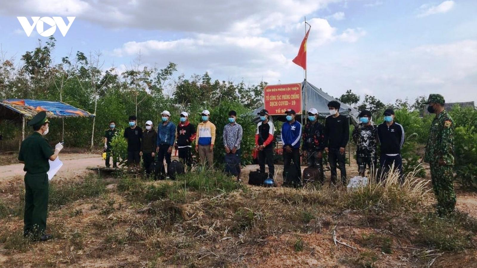 Bình Phước: Hơn 1 tháng bắt 190 đối tượng nhập cảnh trái phép