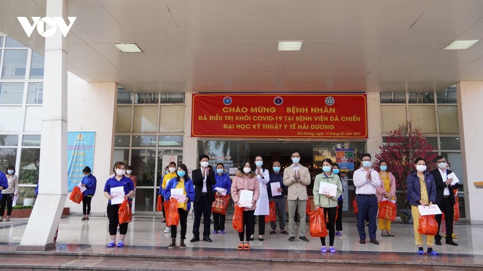 Nhiều bệnh nhân Covid-19 và F1 tại Hải Dương, Quảng Ninh được về nhà đón Tết