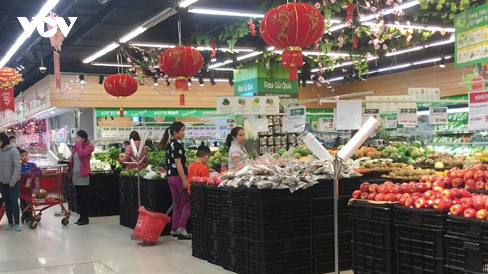 Chỉ số giá tiêu dùng vọt tăng 1,52% trong tháng Tết
