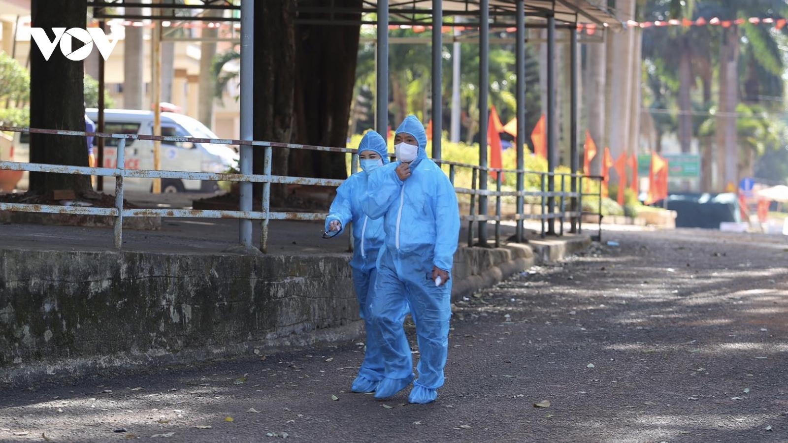 Bệnh viện Đa khoa Gia Lai hoạt động trở lại sau khi bị phong tỏa