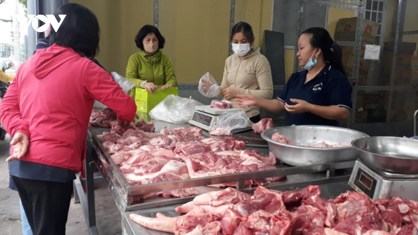 Đà Nẵng tổ chức 16 điểm bán thịt lợn bình ổn giá dịp Tết