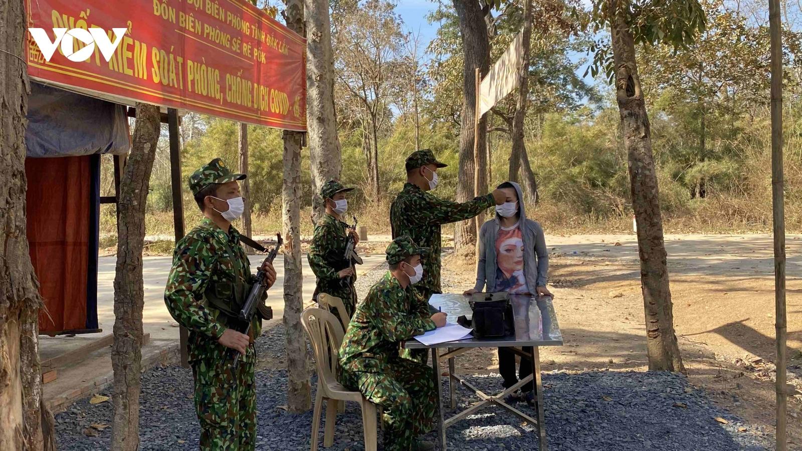 Ăn Tết sớm với lính biên phòngĐắk Lắk