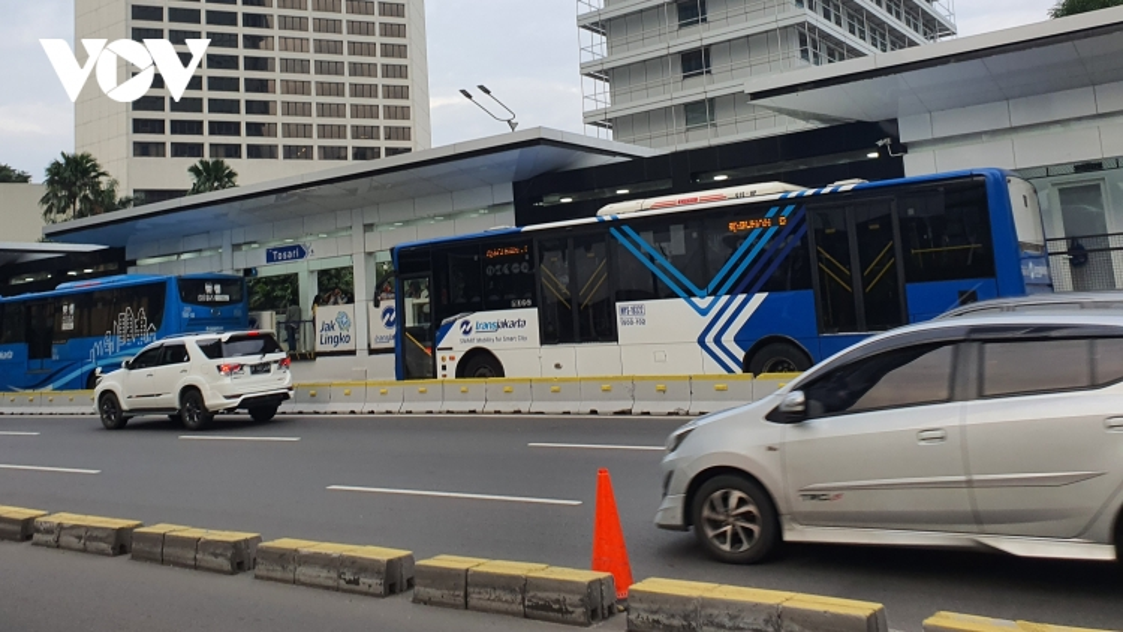 Tích hợp phương thức vận tải giúp Jakarta (Indonesia) đạt giải Giao thông bền vững