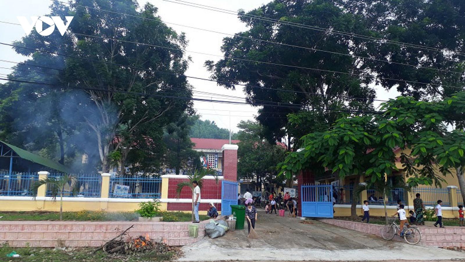 Học sinh ở Ninh Thuận trở lại trường từ ngày 22/2