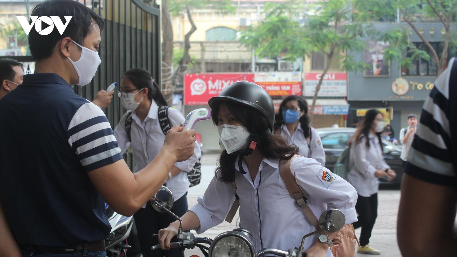 Sở GD-ĐT Hà Nội yêu cầu các trường chuẩn bị sẵn sàng đón học sinh trở lại học