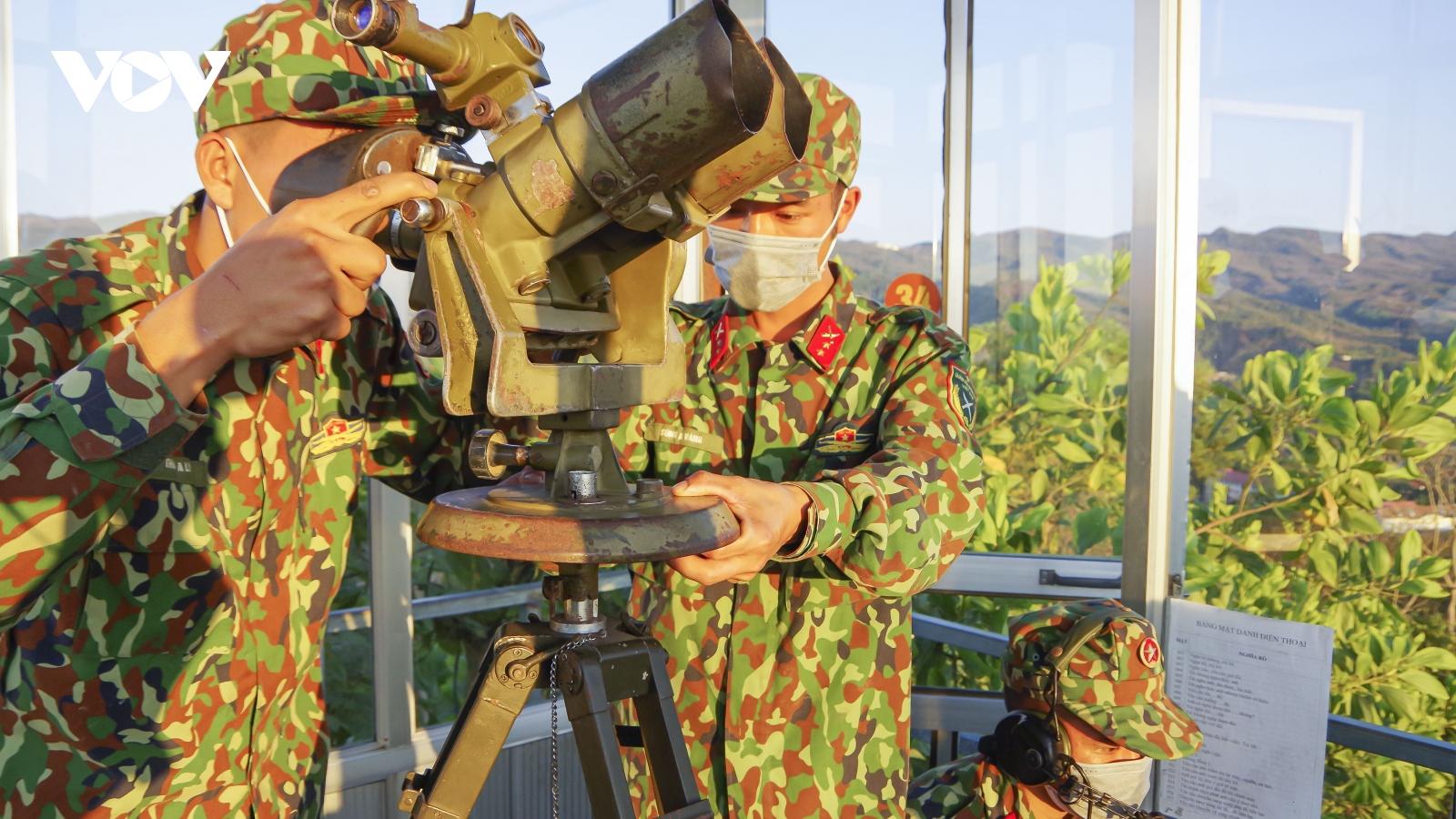 Bộ chỉ huy quân sự tỉnh Điện Biên thăm, động viên các phân đội thực hiện nhiệm vụ