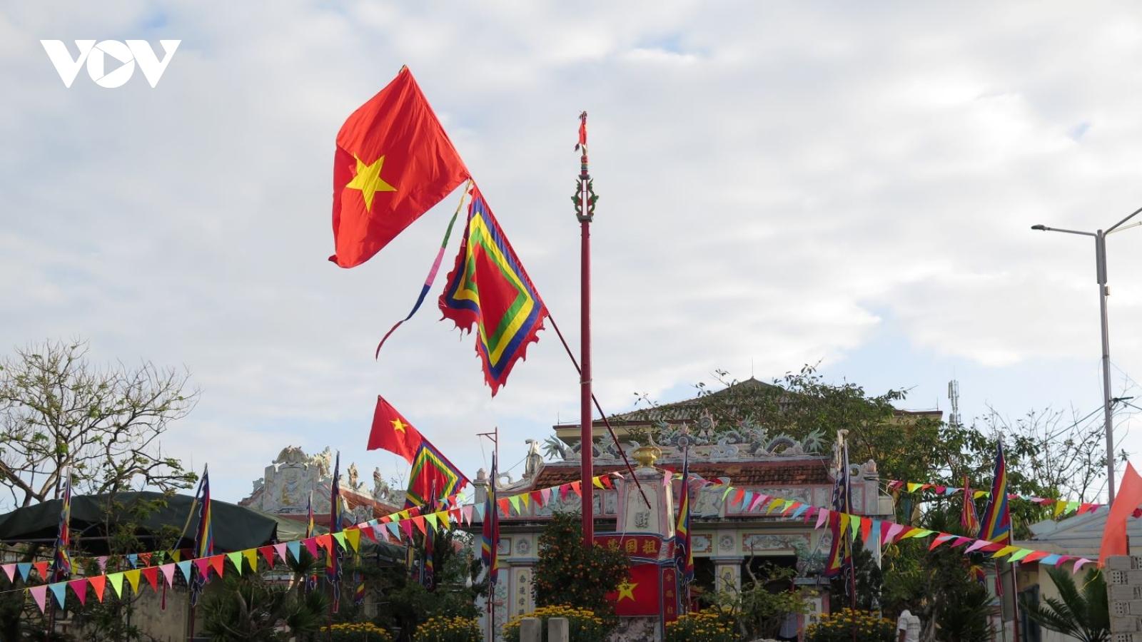 Thiêng liêng lễ Thượng nêu đón Tết trên đảo Lý Sơn