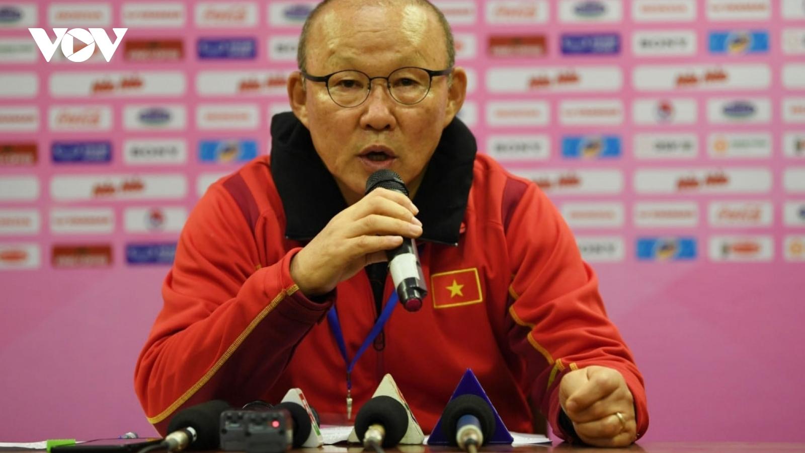 Coach Park Hang-seo back to Vietnam