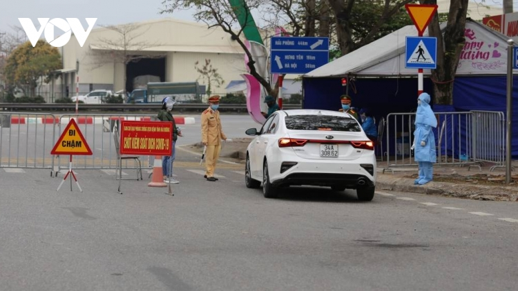 Hai Duong rolls out hundreds of quarantine checkpoints for COVID-19 control