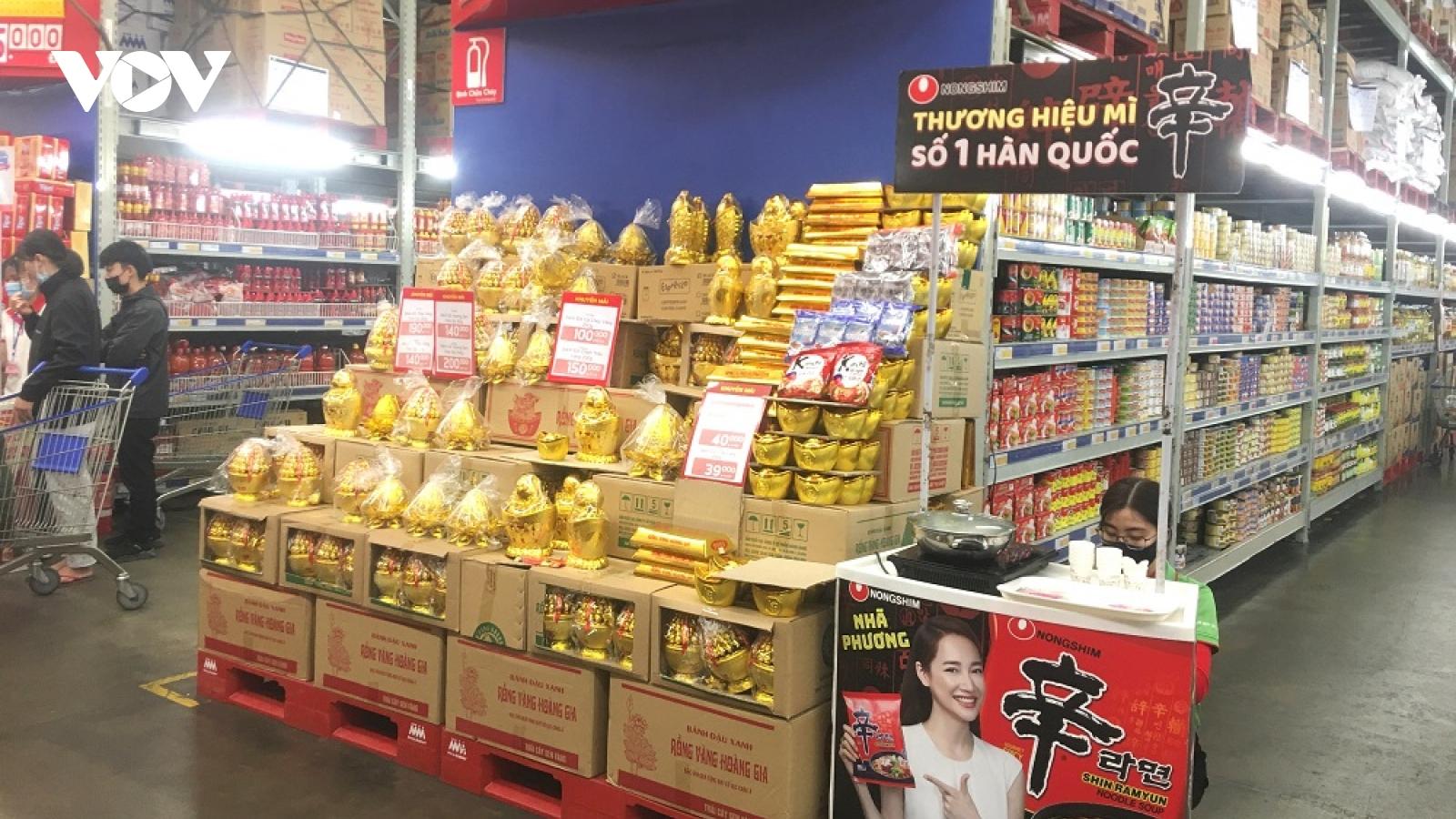 Đảm bảo nguồn cung hàng hóa phục vụ nhu cầu mua sắm dịp Tết Tân Sửu