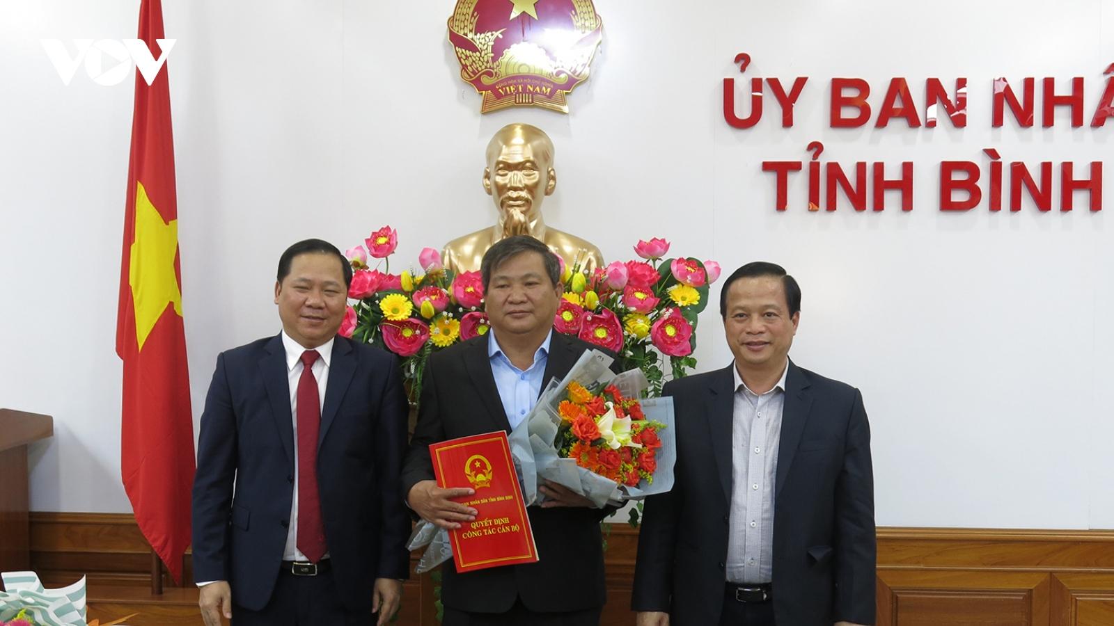 Bình Định bổ nhiệm Giám đốc Sở NN-PTNT