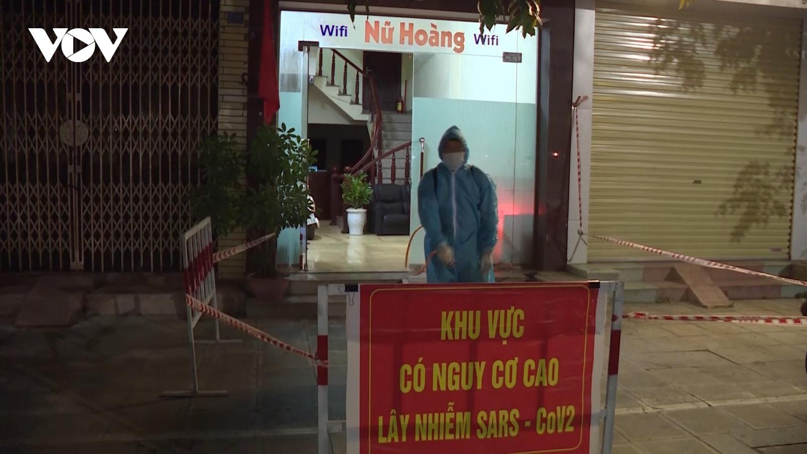 Phong tỏa nhà nghỉ vi phạm quy định phòng chống dịch ởQuảng Ninh