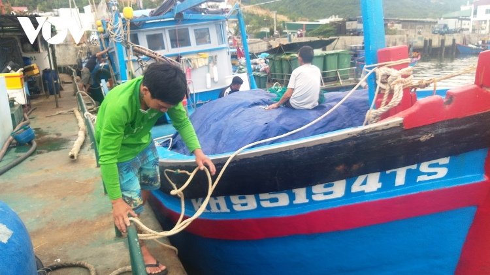 Cả ngàn ngư dân Khánh Hòa ăn Tết trên biển