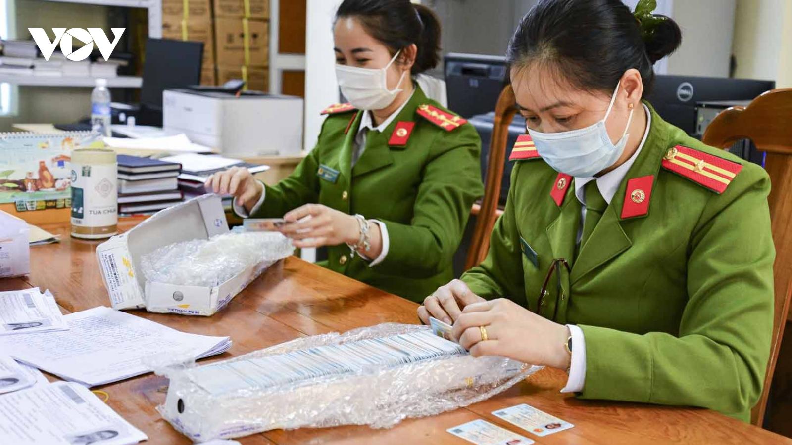 Hơn 5.000 thẻ căn cước gắn chip điện tử đã được cấp cho người dân Điện Biên