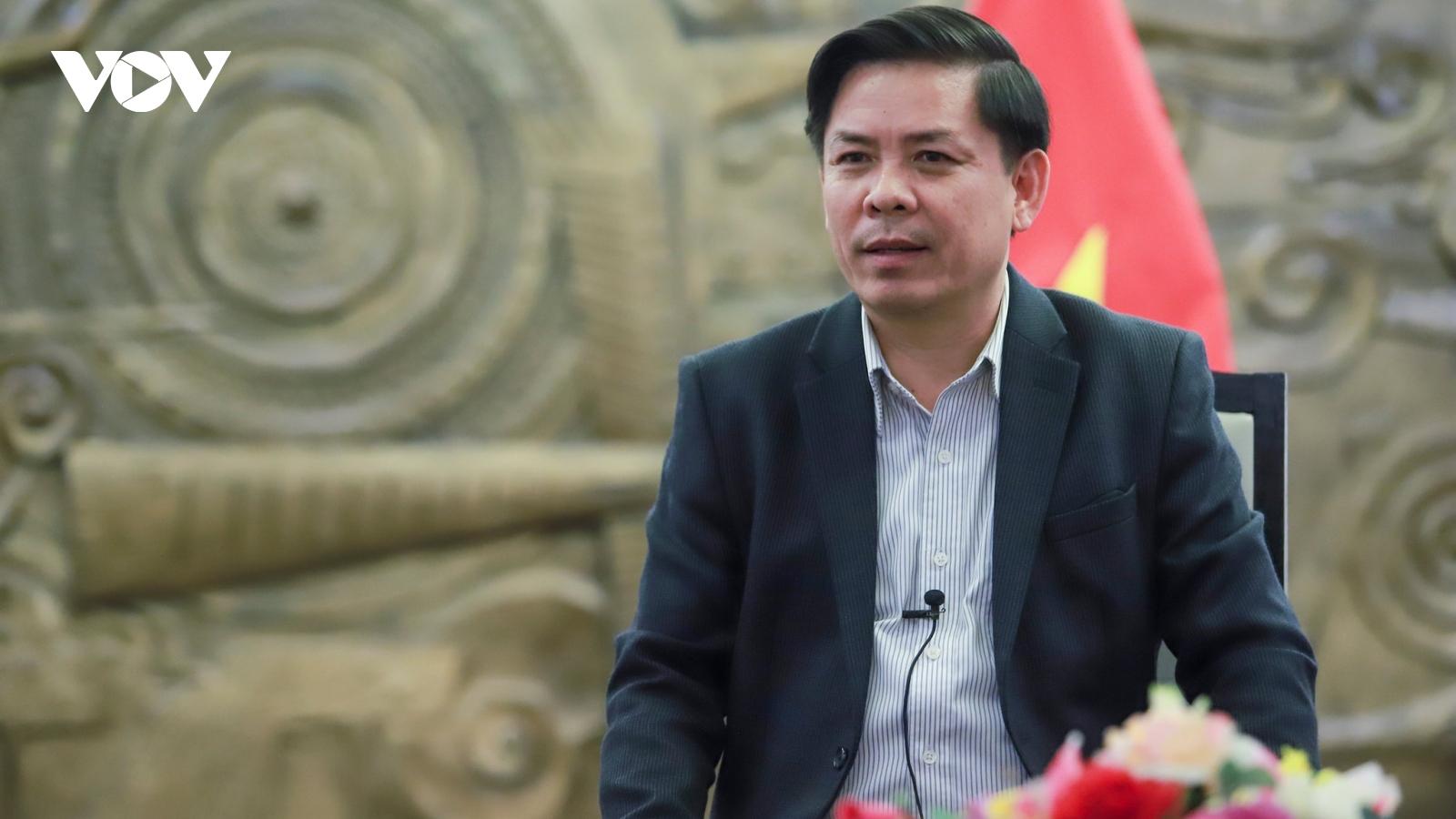Bộ trưởng Nguyễn Văn Thể: Đất nước thịnh vượng cần hạ tầng giao thông hiện đại