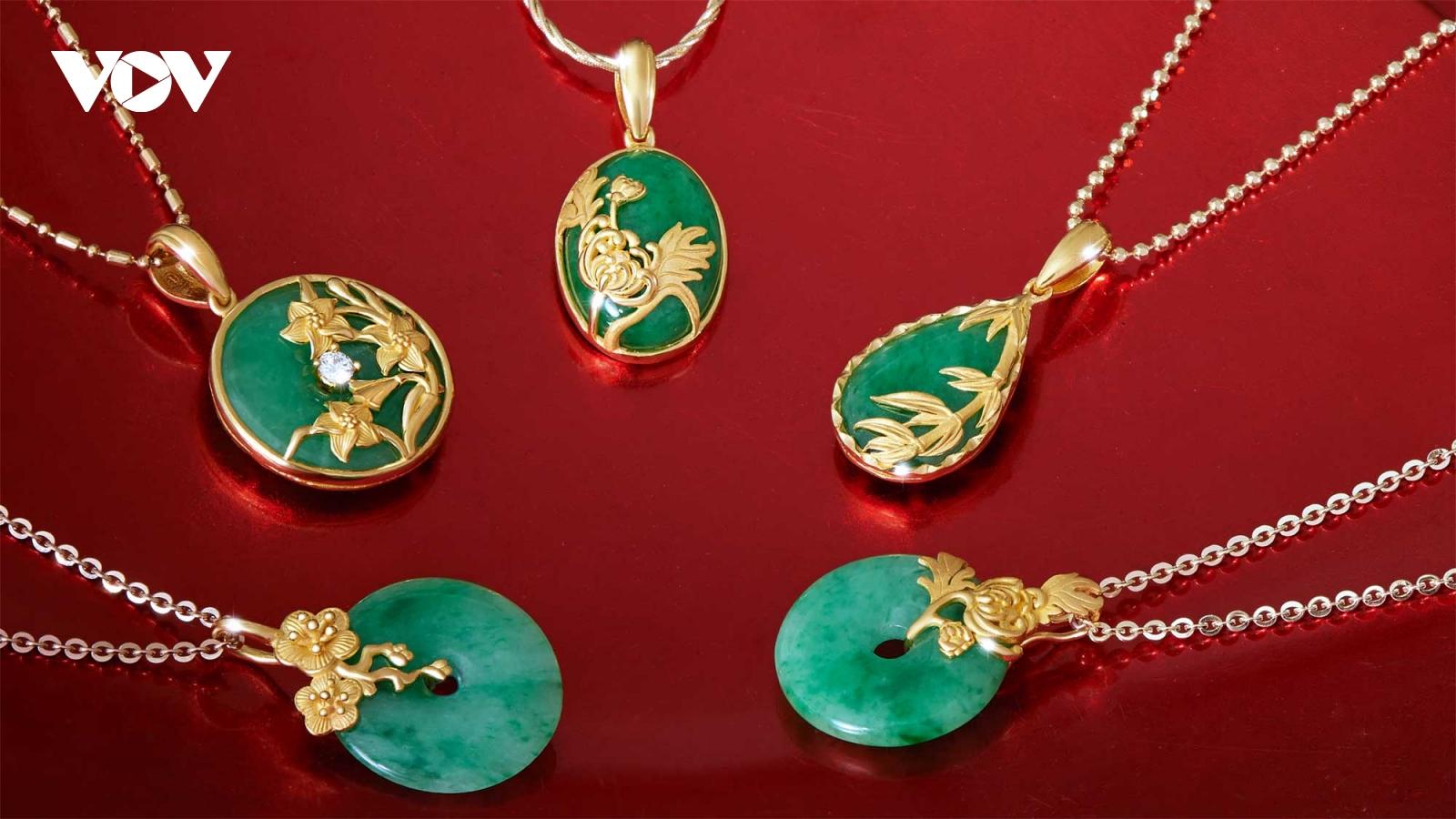 Thị trường vàng trước ngày Vía Thần Tài nhiều mẫu phẩm mới lạ