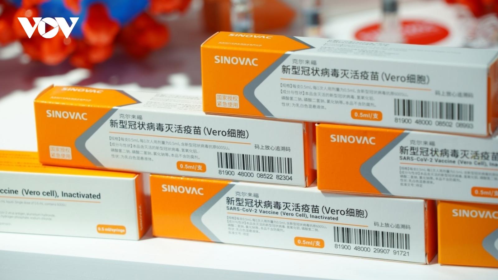 Trung Quốccôngbố dữ liệu thử nghiệm lâm sàng vaccine Covid-19 thứ hai
