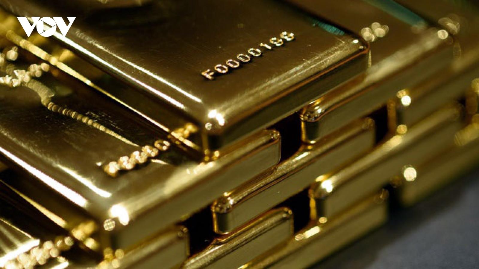 Giá vàng SJC tiếp tục tăng trong phiên giao dịch cuối tuần