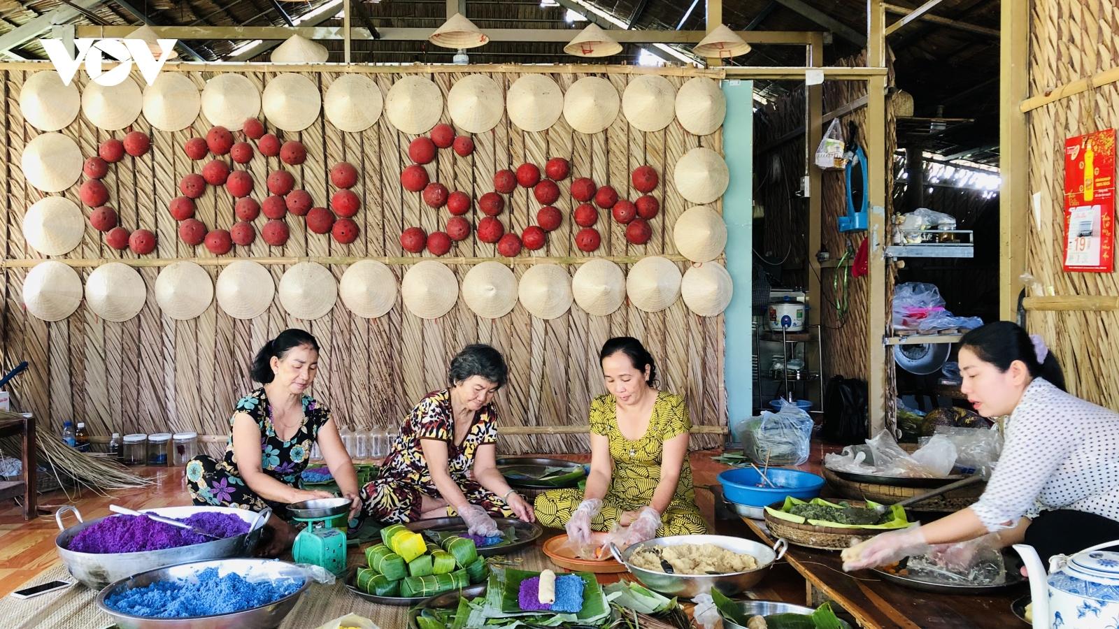 Du lịch Cồn Sơn - Lưu giữ hương vị Tết xưa