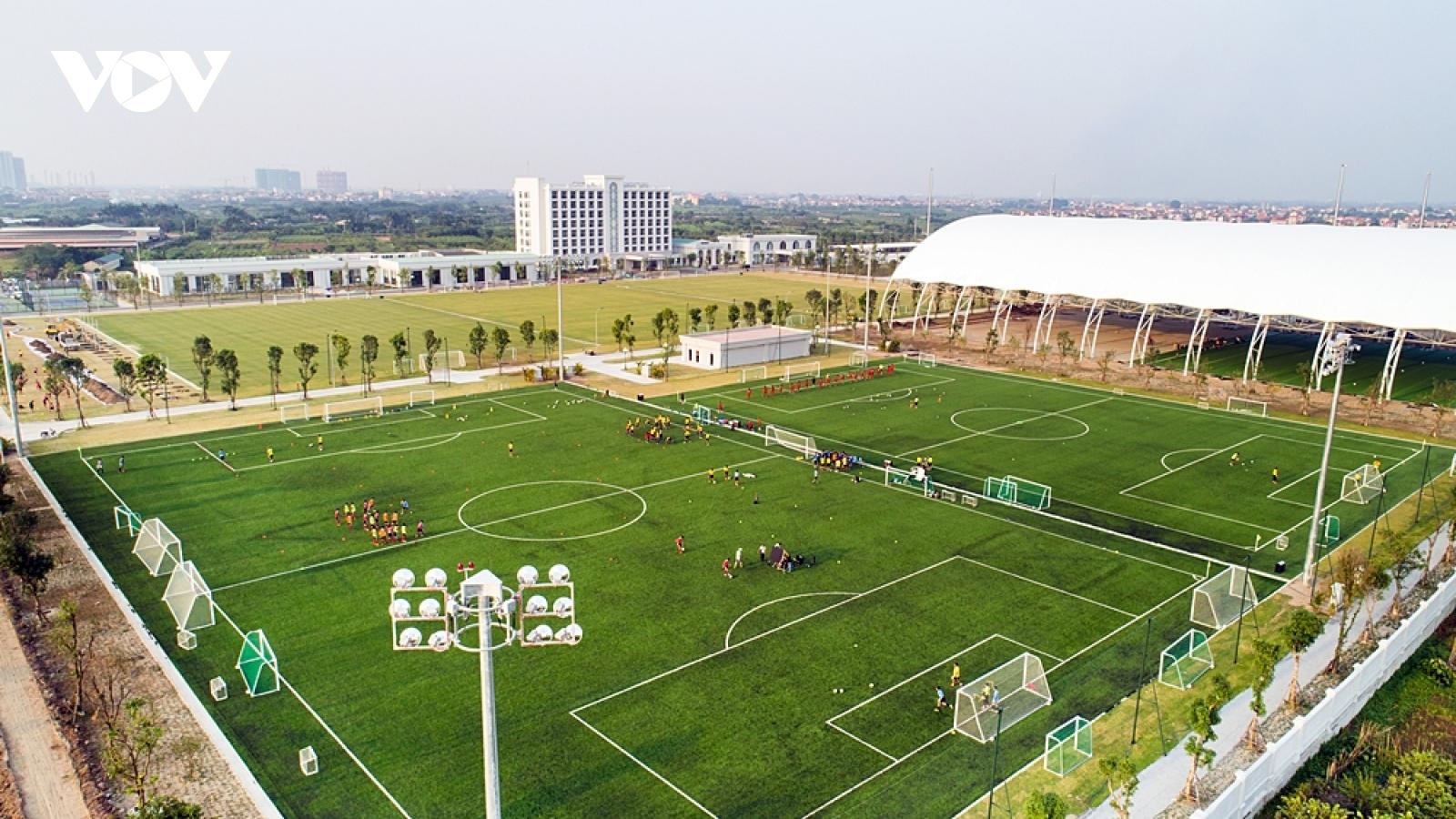 Học viện đào tạo bóng đá trẻ hàng đầu châu Á - PVF chính thức đổi chủ