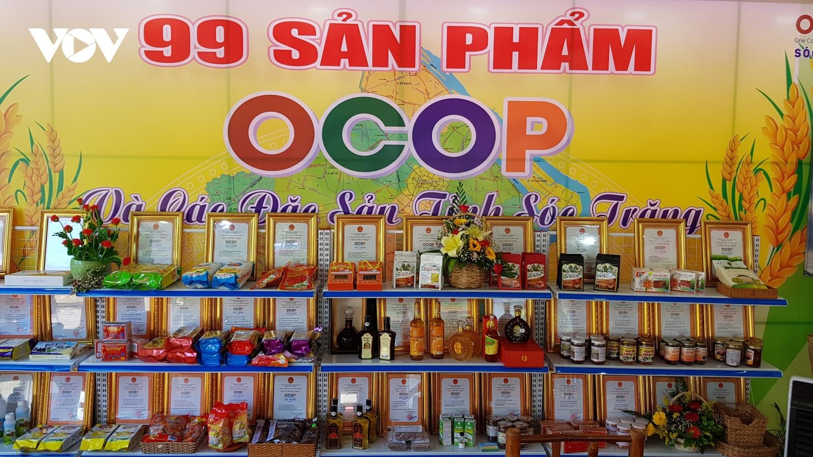 Sản phẩm OCOP mang lại nhiều lợi ích cho doanh nghiệp ĐBSCL