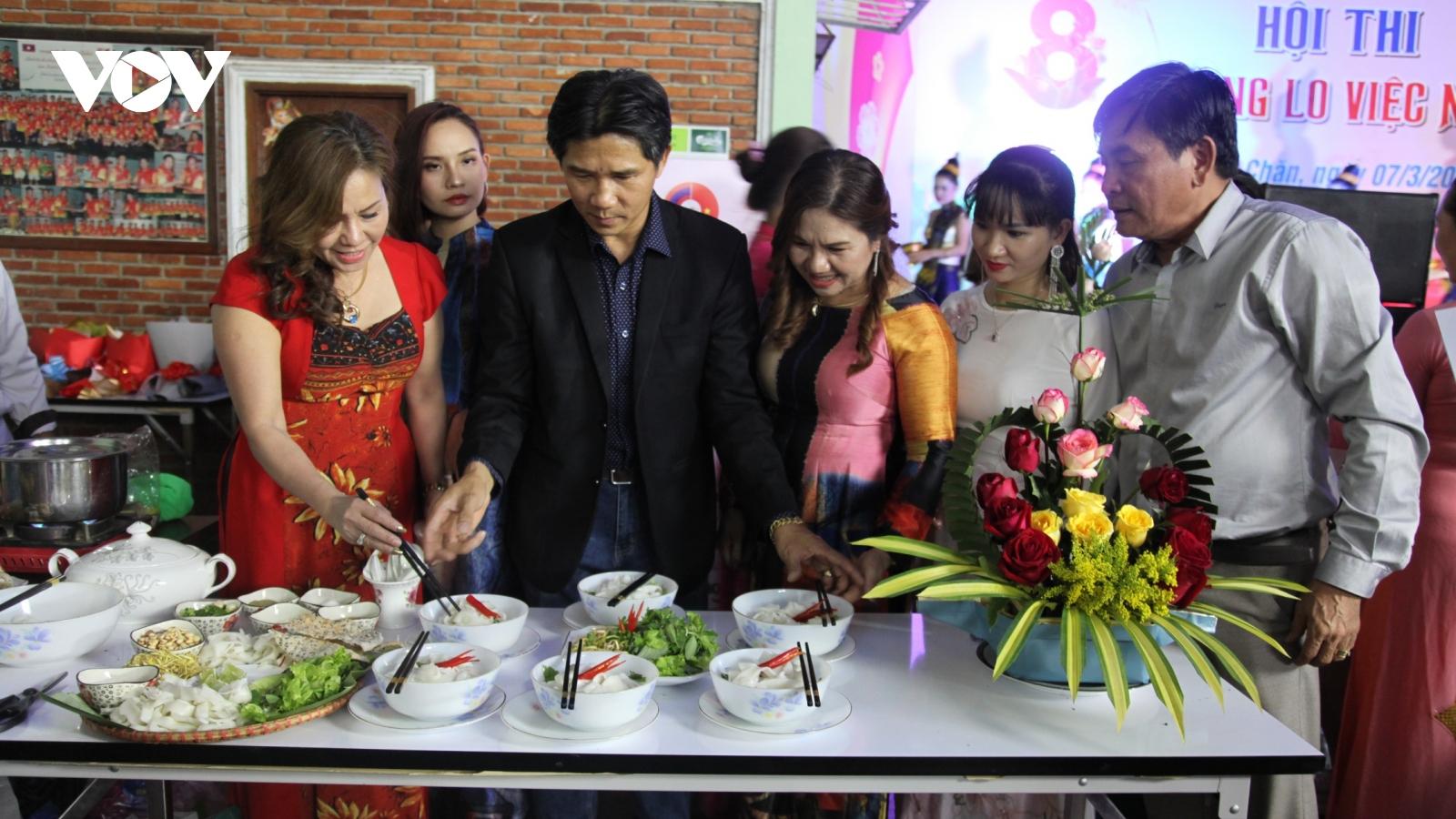 Kỷ niệm ngày Quốc tế phụ nữ 8-3 tại Lào