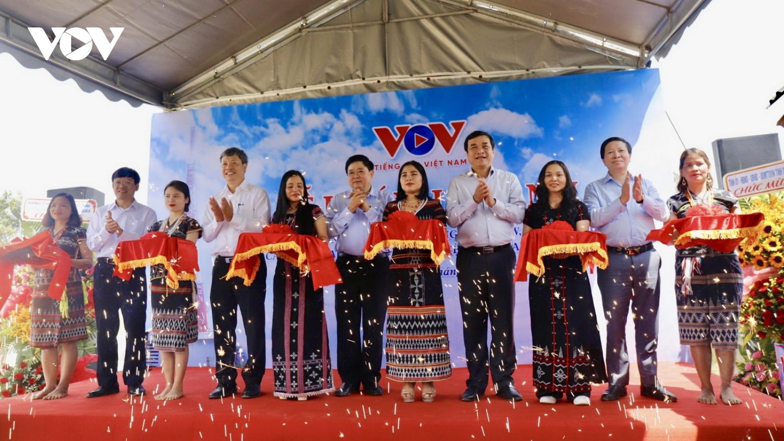 VOV khánh thành trạm phát sóng FM tự động tại đỉnh Quế,tỉnh Quảng Nam