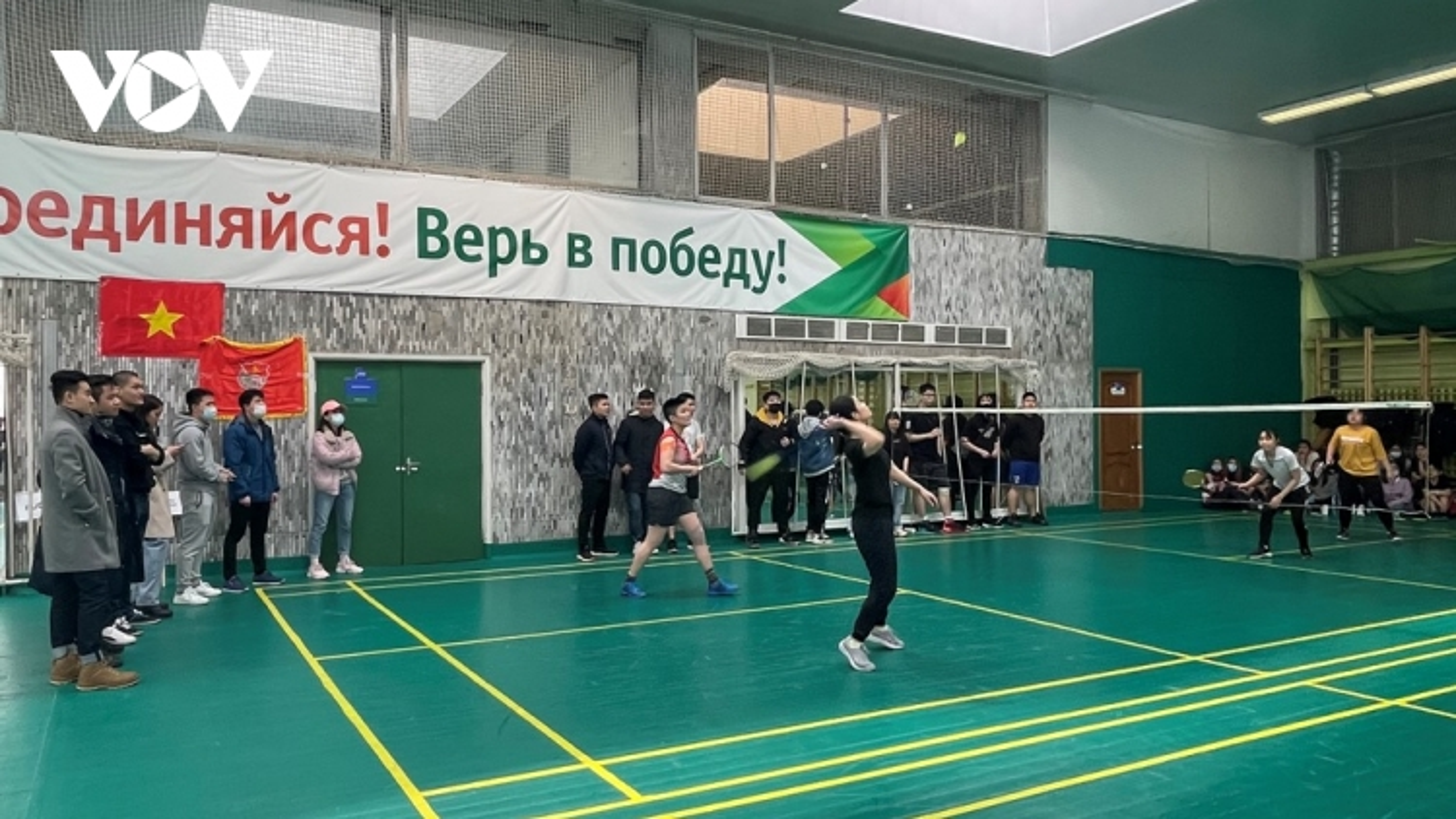 Sinh viên Việt Nam tại Nga tổ chức giải cầu lông chào mừng 90 nămthành lập Đoàn TNCS HCM