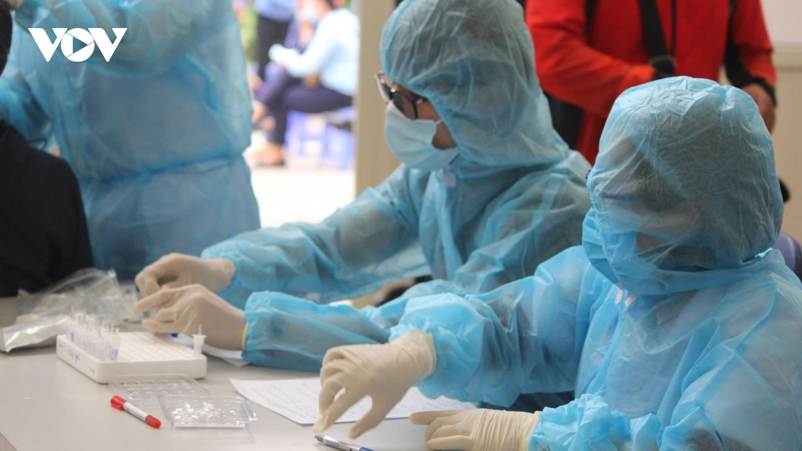 Công nhân công ty Poyun mắc COVID-19 ở Đông Triều chỉ tiếp xúc với người trong gia đình