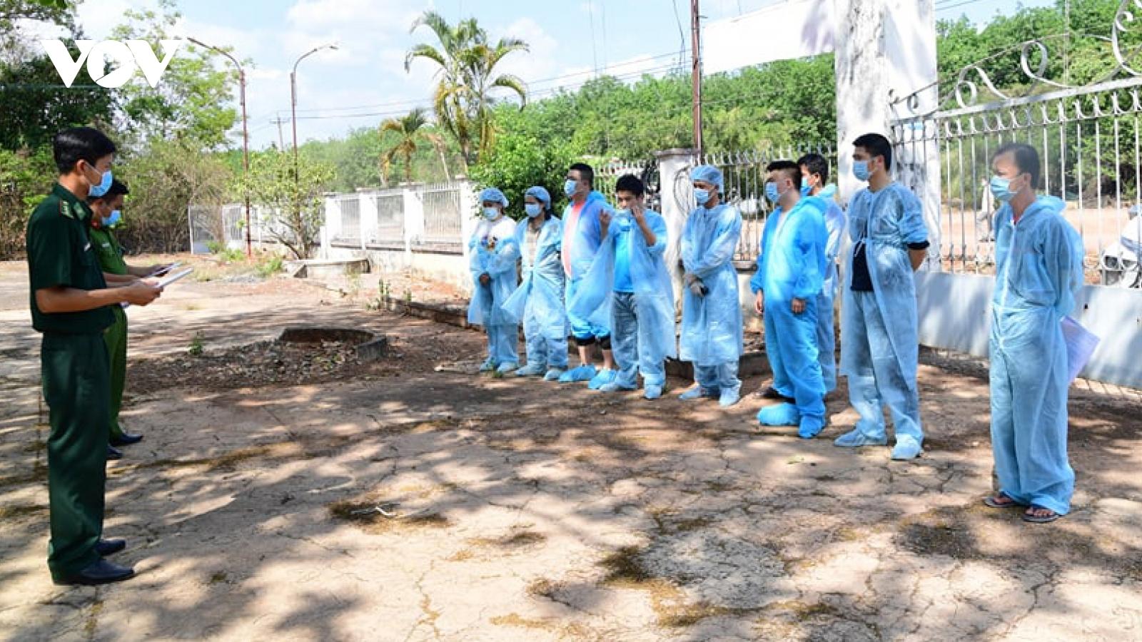Bình Phước bắt giữ 3 người dẫn đường cho đối tượng Trung Quốc vượt biên sang Campuchia