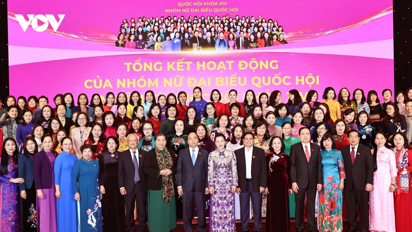 Hoạt động của Nhóm nữ đại biểu Quốc hội ngày càng đa dạng, phong phú
