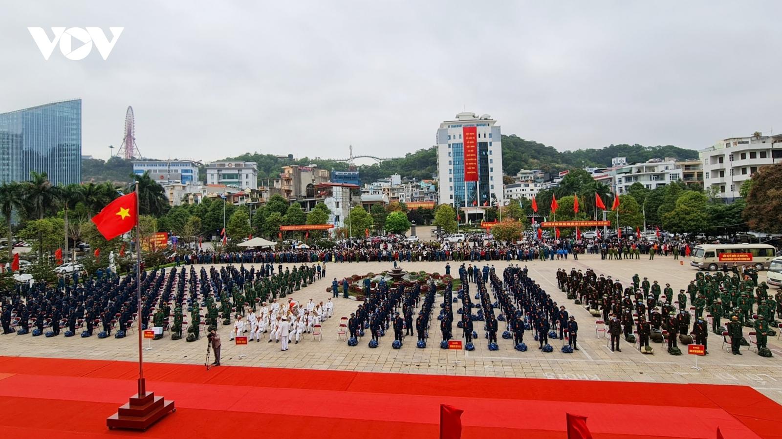 Nô nức ngày hội tòng quân tại Hải Phòng, Quảng Ninh