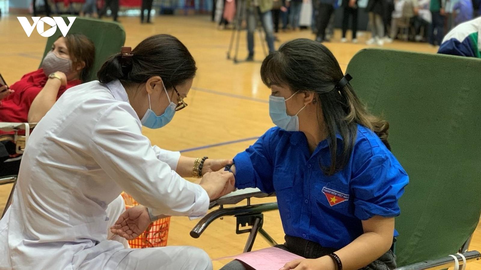 Quảng Ninh: Hiến máu an toàn - Đừng ngại Covid-19
