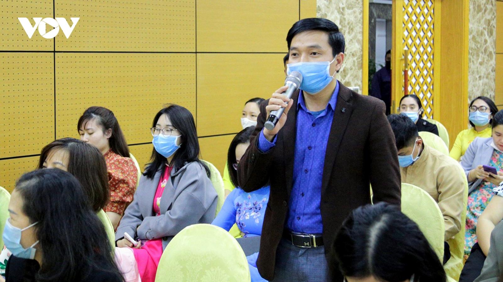 Số người giới thiệu ứng cử HĐND các cấp tại Quảng Ninh gấp 3-4 lần số người được bầu