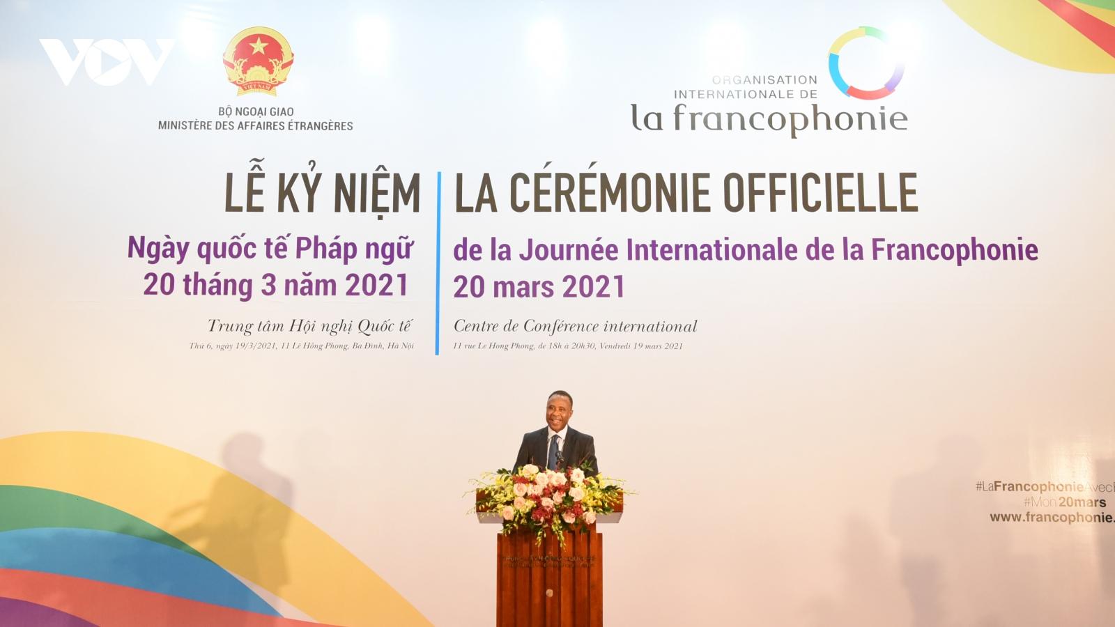 Kỷ niệm Ngày Quốc tế Pháp ngữ 2021: Đoàn kết và phát huy giá trị nhân văn trong đại dịch