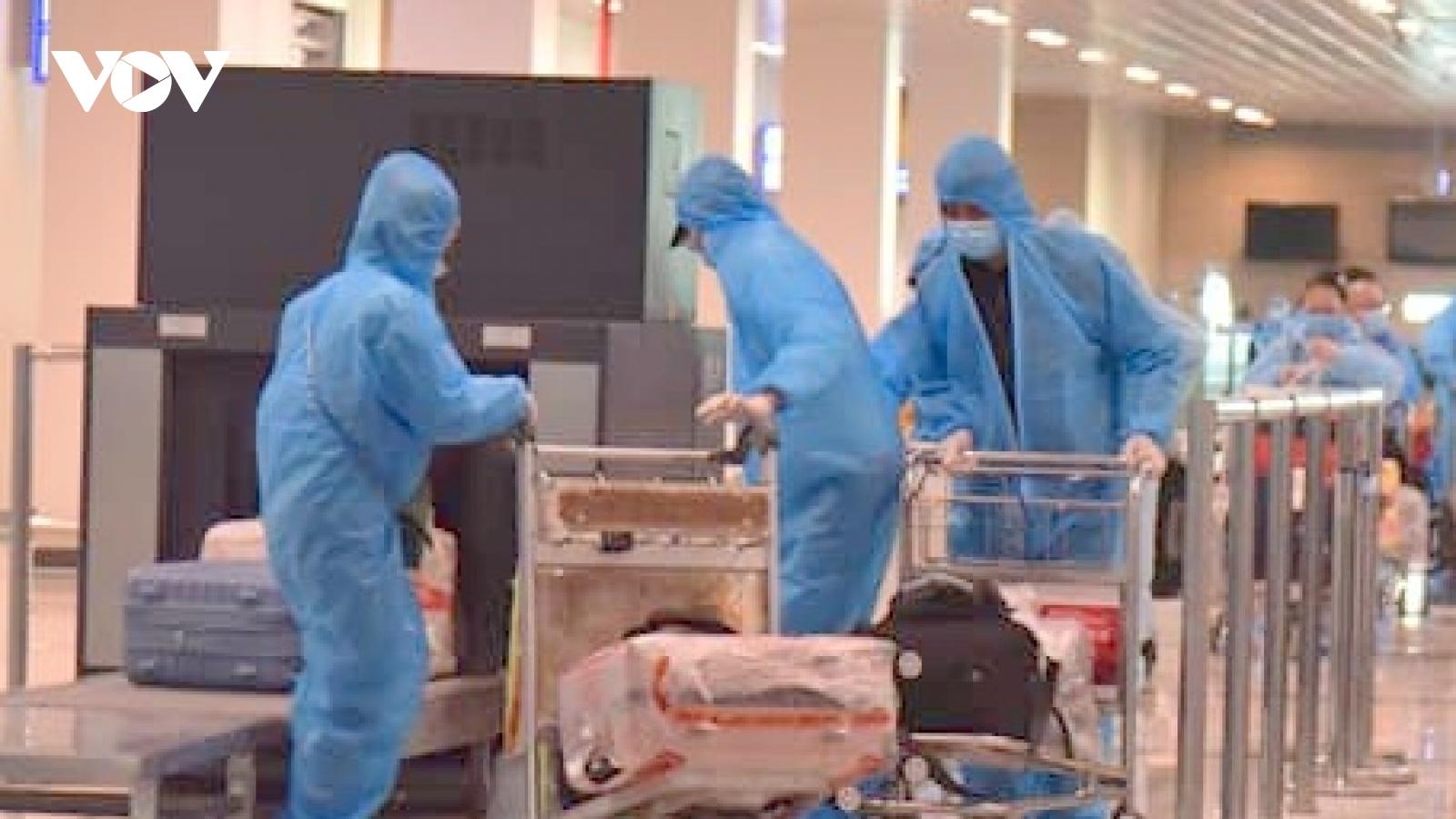 Cảng hàng không Quốc tế Cần Thơ đón 2 chuyến bay đưa công dân về nước