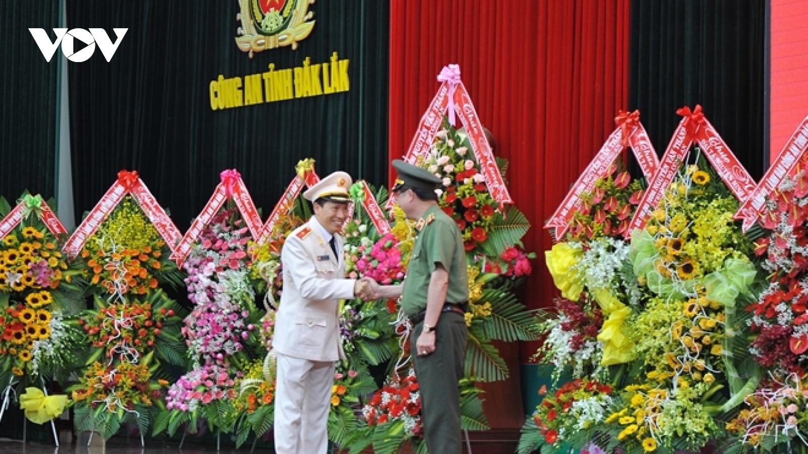 Giám đốc Công an Đắk Lắk về làm Phó Chủ nhiệm UBKT Đảng ủy Công an Trung ương