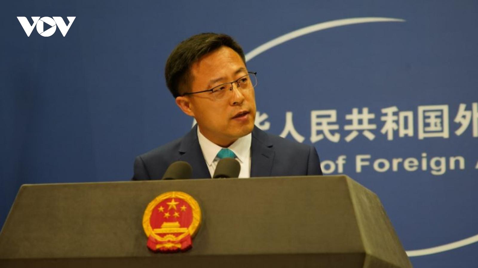 Trung Quốc tiếp tục thể hiện thái độ cứng rắn về vấn đề Đài Loan