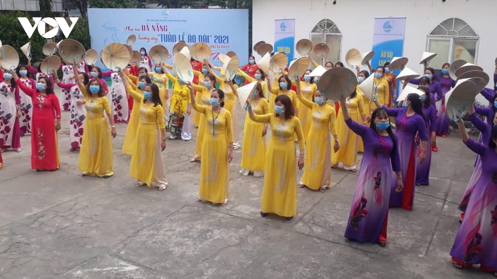 """Đà Nẵng phát động hưởng ứng """"Tuần lễ áo dài"""" năm 2021"""