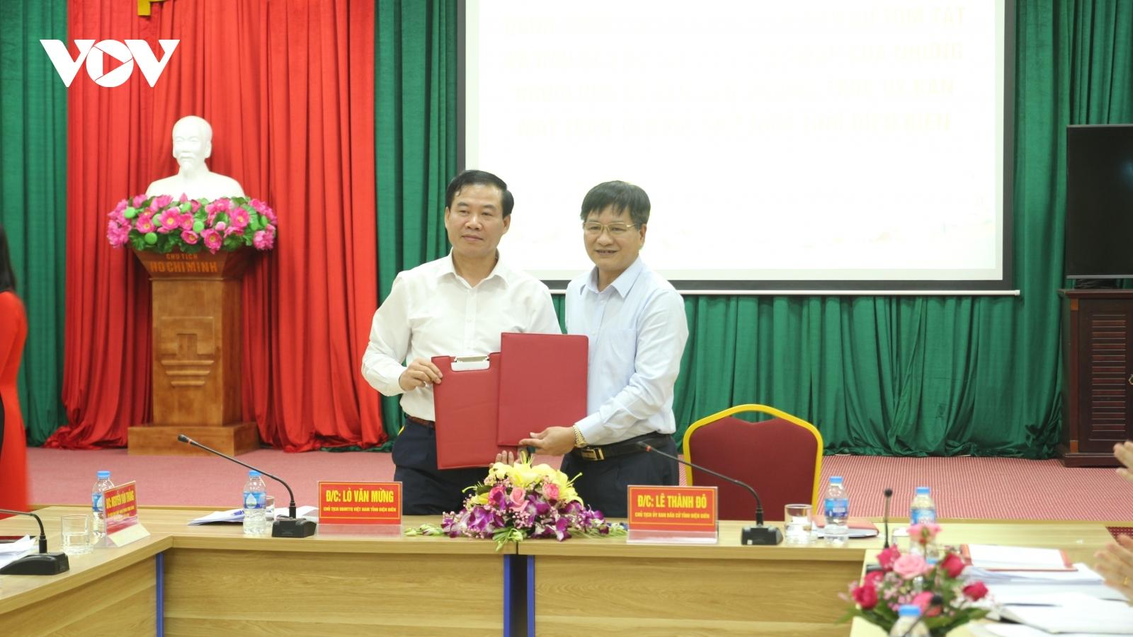 Chuyển giao hồ sơ ứng cử viên ĐBQH và HĐND tỉnh Điện Biên khóa XV