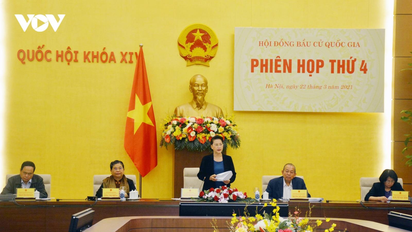 Hội đồng Bầu cử quốc gia nhận được 1.136 hồ sơ ứng cử đại biểu Quốc hội khóa XV