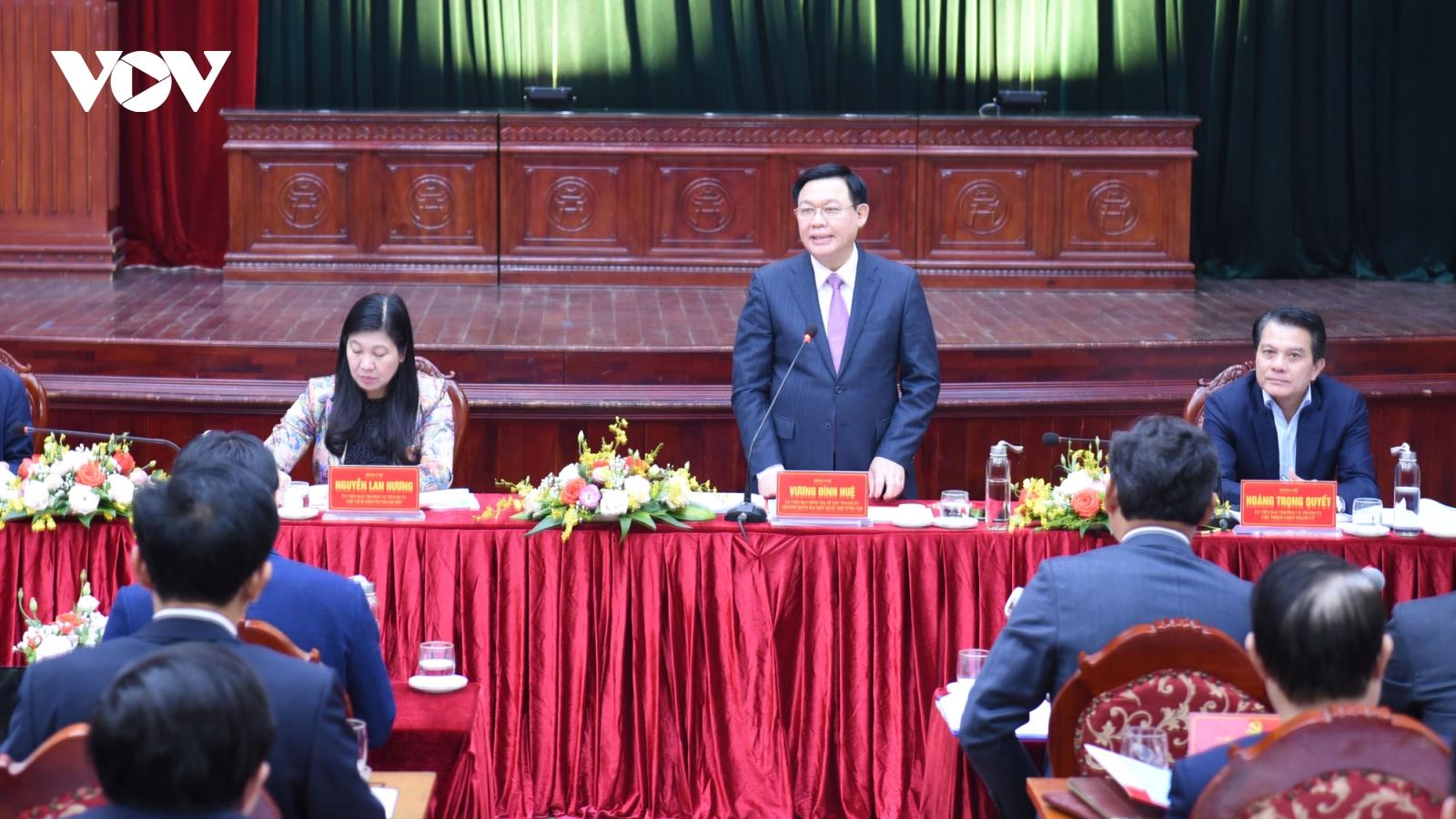 Bí thư Thành ủy Hà Nội: Gia Lâm có lợi thế, nguồn lực để lên quận vào năm 2023