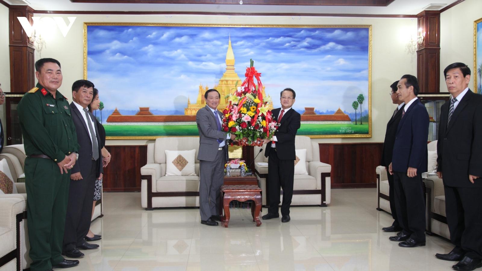 Chúc mừng 66 năm ngày thành lập Đảng nhân dân Cách mạng Lào