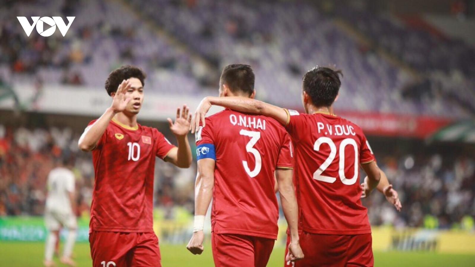 ĐT Việt Nam thi đấu Vòng loại World Cup 2022 tại UAE