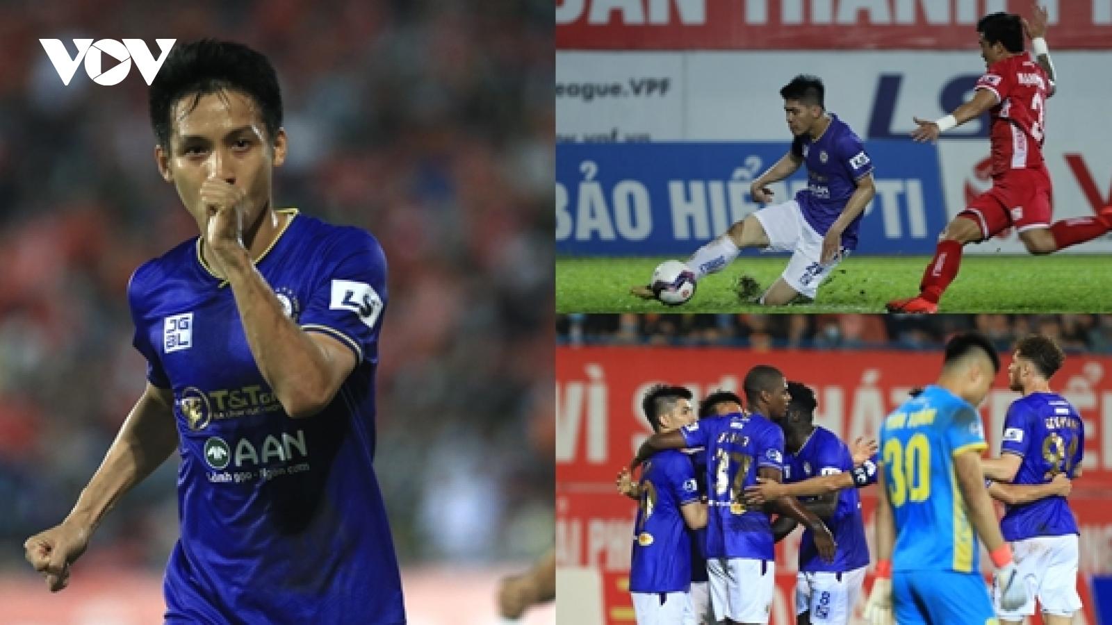 Hải Phòng 0-2 Hà Nội FC: Dàn tuyển thủ Việt Nam thi nhau tỏa sáng