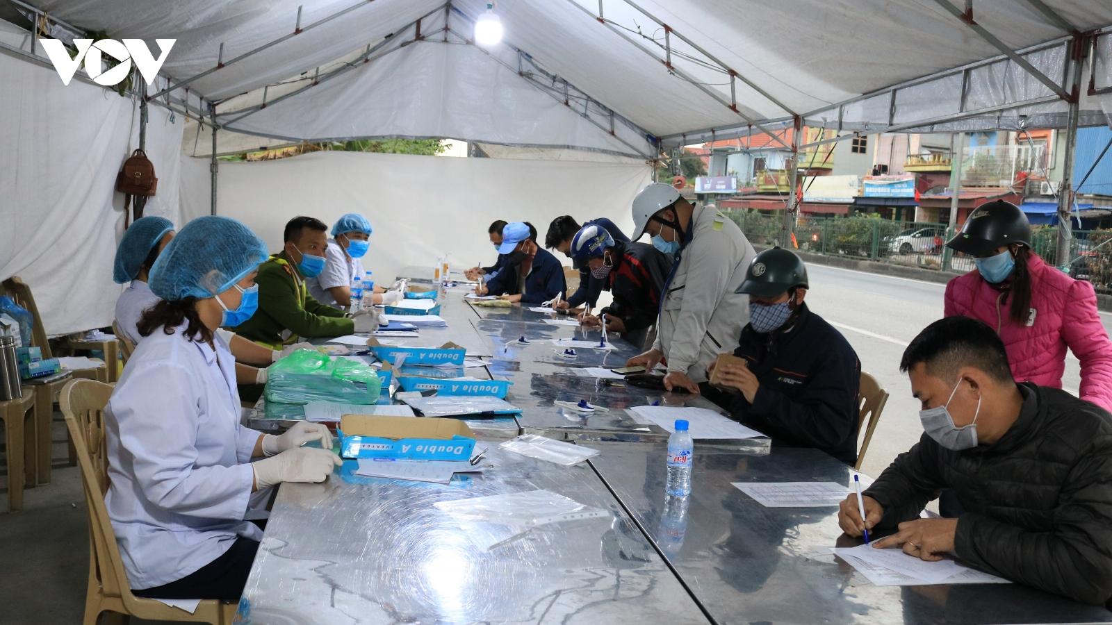 Từ 12h ngày 25/3, người từ Hải Dương về Hải Phòng không phải cách ly y tế